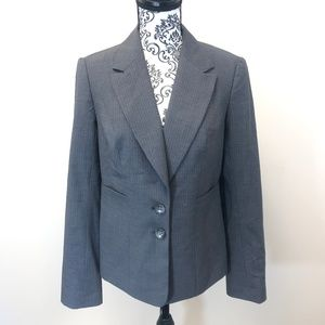 LUXE by The Limited Wool Blazer Jacket Size 6